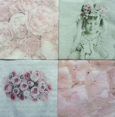 4 x Single Paper Napkins Frame Leaves for Table Decoupage and Crafting 7