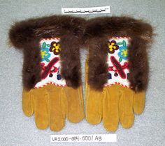 Beaded Gloves :: University of Alaska Museum of the North