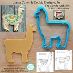 Llama Cutter from Whisked Away Cutters