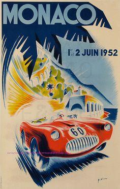 MINNE MONACO GRAND PRIX  1952