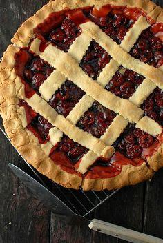 President's Birthday Cherry Pie (1) From:  Boulder Locavore, please visit