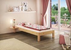 Futonbett aus Kiefernholz für jeden Geschmack Sofa, Outdoor Furniture, Outdoor Decor, Betta, Bed Frame, Toddler Bed, Sleep, Design, Ebay