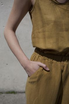 Ulla Johnson Lee Jumper in Ochre | Oroboro Store | Brooklyn, New York