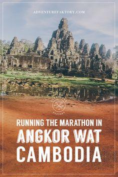 Angkor Wat Marathon Cambodia | AdventureFaktory.com | Travel and Dubai Guides