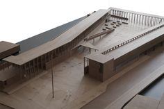 Gallery of New City Hall in Nancagua / Beals Lyon Arquitectos - 20 Concept Models Architecture, Architecture Design, Lyon, Gallery Of Modern Art, Arch Model, Organic Architecture, New City, Deco, Design Projects
