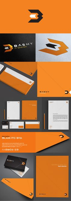 bashy  #stationary #corporate #design #corporatedesign #logo #identity #branding #marketing