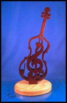 Music Sculpture Scroll Saw Pattern.
