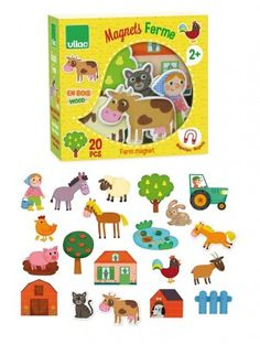 20 super cute magnets by Vilac in the theme farm. These magnets are ideal for small and large kids. The magnets are made out of 4 mm thick wood and approxim Camping In North Carolina, Florida Camping, Camping Near Me, Camping Gear, Half Moon Bay Camping, Camping Photography, Camping Parties, Camping World, Making Out
