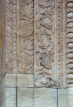 Palmyre (Syrie) - Temple de Baal-Shamin  - sculpture