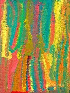 Wildflower Dreaming Synthetic polymer paint on linen 1994