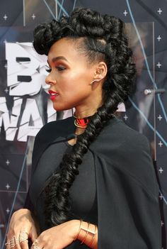 Janelle Monáe Just Rocked a Seriously Enviable Braid