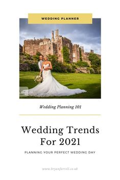 Wedding styles and trend for 2021 - what to expect in next years wedding, from wedding dress styles to wedding photography techniques and fashions. I've taken a look at what I think will be hot in 2021 weddings. A look at some of the trending hairstyles for brides and some fashionable ways to decorate your wedding venue and the wedding styles what will be popular. #weddinginspiration #weddingdecoration #weddingstyle #weddingdesign #weddingplanning #planningawedding #weddingideas #2021weddings Wedding Planning Inspiration, Wedding Planning Guide, Wedding Flower Inspiration, Inspiration Boards, Party Planning, Wedding Photography Pricing, Wedding Photography Packages, Photography Ideas, Plan My Wedding