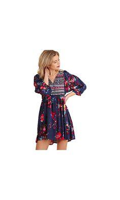 258b58107f Umgee Women s Bohemian Tunic or Dress at Amazon Women s Clothing store