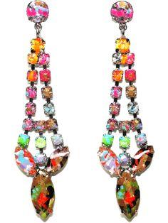 Tom Binns riot Of Colour Earrings - Uzerai - Farfetch.com