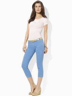 Slimming Cropped Straight Jean