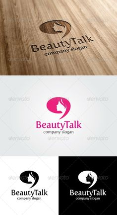 beauty talk Logo Template - GraphicRiver Item for Sale