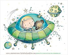 Más tamaños | Space Adventure, via Flickr.