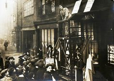 Sylvia Pankhurst speaking in the East End of London in 1912
