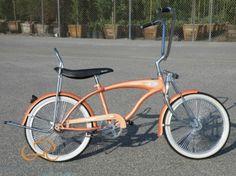 Micargi Lowrider in Saffron orange