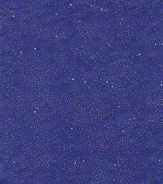 Logantex Casa Collection� Fairy Dust Embellished Organza Fabric-Purple
