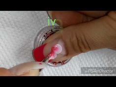 Decoración uñas mariposa one stroke - YouTube