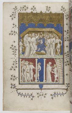 Couronnement de Charles VI à Reims (Grandes chroniques de France)