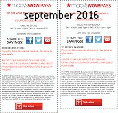 Macy's Coupons Promo Coupons will expired on MAY 2020 ! Macy's Information Shop at Macy's and save more with shoes, clothing, jewelry. Best Buy Coupons, Store Coupons, Shopping Coupons, Online Coupons, Grocery Coupons, Discount Coupons, Free Printable Coupons, Free Coupons, Print Coupons