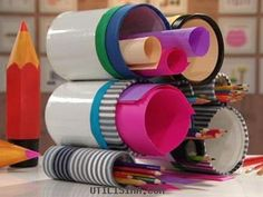 decoración con latas - Buscar con Google