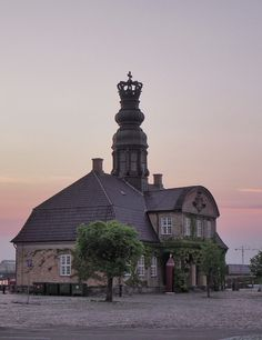 Main Guardhouse, build 1745. At the old harbour, Copenhagen
