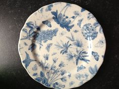 Another plate. Pilfered from a friend after coffee  Portmerion