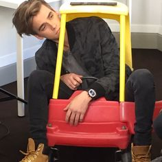 ~Joe stuck in a toy car~
