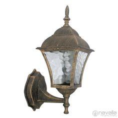 TOSCANA - Rábalux 8392 - Kültéri fali lámpa - antik arany 1xE27 max. 60W 14,5 x 19,5 x 14,5 cm [RABALUX-8392] - 6.450 Ft