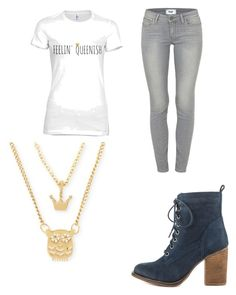 Untitled #2339 by marta-moreno-1 on Polyvore featuring polyvore, fashion, style, Paige Denim, Steve Madden, Betsey Johnson and clothing