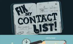 Featured of the day 01-June-2014  http://www.csslight.com/website/7019/Fix-My-Contact-List
