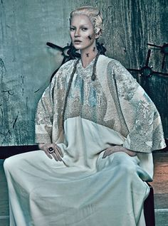 Kate Moss photographed by Steven Klein for W's March 2012 issue-1