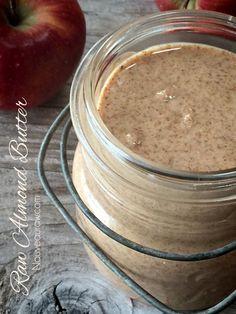 Almond Butter (raw, vegan, gluten-free)