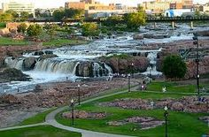 Falls Park in Sioux Falls, Beautiful place!