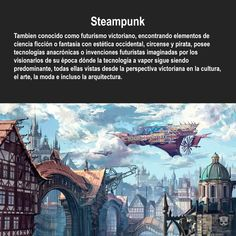 My first love Steampunk, Environment Concept, Imagines, No One Loves Me, First Love, Medieval, Desktop Screenshot, Skyline, Facts
