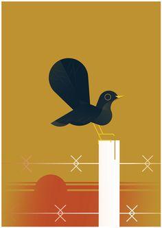 Irish Bird SeriesAn ongoing fine art print series based on a contemporary interpretation of bird-life.
