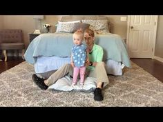 #99 Teach your Child Standing Balance: Exercises for a Baby with Low Tone - YouTube
