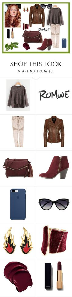 """Bez naslova #1452"" by arijana-cehic ❤ liked on Polyvore featuring Balmain, Violet Ray, Charlotte Russe, Apple, La Perla, AMBUSH and GUESS by Marciano"