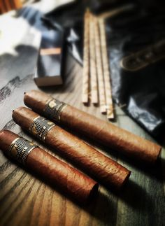 Hey, we're missing one of the Cohiba Behike cigars. Who do you think will be smoking it?..