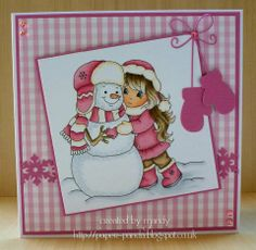 ALANNAH & SNOWBALL http://www.whimsystamps.com/index.php?main_page=product_info&cPath=13_38&products_id=3056 Card is designed by Mandy http://paper-panda.blogspot.co.uk/