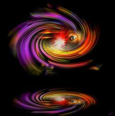 'Geheimnisvolle Welt 18' von Walter Zettl bei artflakes.com als Poster oder Kunstdruck $22.17