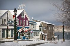 Christmas in Bar Harbor, Me :)