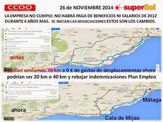 CCOO Supersol Málaga: El inicio de las negociaciones del Convenio de Sup...