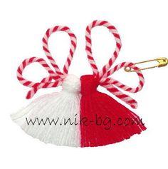 Baba Marta, Woolen Flower, 8 Martie, Yarn Dolls, Christmas Crafts, Christmas Ornaments, Origami, Diy And Crafts, Daisy