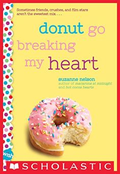 Donut Go Breaking My Heart: A Wish Novel:   Sheyda is a behind-the-scenes girl. She loves helping out in the kitchen of Doughlicious, the donut shop run by the parents of her best friend, Kiri. And Sheyda loves designing stage sets while Kiri performs in the spotlight. br /br /Then lights, camera... surprise! Tween heartthrob Cabe Sadler is filming his next big movie in/i Doughlicious!  Kiri is sure this will lead to stardom, and perhaps a date with Cabe. But somehow it's Sheyda/i who ...