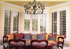 The Louver Montgomery Alabama Designs And Installs Plantation Shutters Wood Blinds Shades In Al