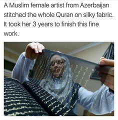 Artist is: Tunzale Memmedzade So amazing and beautiful! Islamic Love Quotes, Muslim Quotes, Psychology Fun Facts, Interesting Facts About World, Amazing Science Facts, Islam Women, Unique Facts, Genius Quotes, Love In Islam
